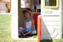 Domčeky s nábytkom - Set domček Neo Jura Lodge Smoby s dvoma dverami a piknik stolík s dvoma stoličkami KidChair Red_10