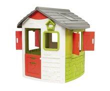 Domčeky so šmykľavkou - Set domček Neo Jura Lodge Smoby s dvoma dverami a šmykľavka Toboggan Funny vlnkovitá s dĺžkou 2 m od 24 mes_8
