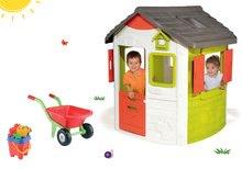 Domčeky pre deti - Set domček Neo Jura Lodge Smoby a fúrik s vedro setom od 24 mes_22