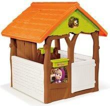 Detské domčeky - Rozprávkový domček Máša a medveď Smoby s kvetináčmi od 24 mes_0