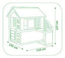 Domečky sety - 810703 e smoby domcek