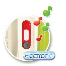 Zvonček elektronický k detským domčekom Smoby Natur, Pretty a Pillings od 18 mesiacov (batérie 2*LR03) 13*4*4 cm SM810900