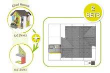 Căsuțe de grădină pentru copii  - 810907 32 810405 810901 smoby guide