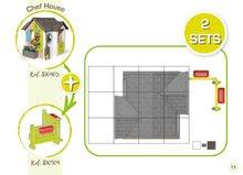 Căsuțe de grădină pentru copii  - 810907 33 810405 810904 smoby guide