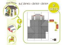 Căsuțe de grădină pentru copii  - 810907 34 810405 810902 810904 smoby guide