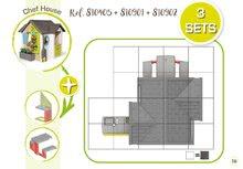 Căsuțe de grădină pentru copii  - 810907 35 810405 810901 810902 smoby guide