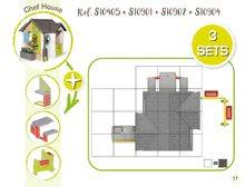 Căsuțe de grădină pentru copii  - 810907 37 810405 810901 810902 810904 smoby guide