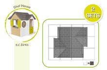 Šmykľavky s domčekom - Set šmykľavka Toboggan XL Smoby s vodou dĺžka 230 cm a domček My House s 2 dvierkami_24