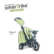 Trojkolky od 10 mesiacov - Trojkolka Explorer Green 5v1 smarTrike 360° riadenie s polohovateľným sedadlom šedo-zelená od 10 mes_2