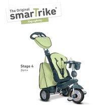 Trojkolky od 10 mesiacov - Trojkolka Explorer Green 5v1 smarTrike 360° riadenie s polohovateľným sedadlom šedo-zelená od 10 mes_3