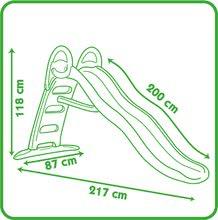 Domčeky so šmykľavkou - Set domček Nature Smoby a šmykľavka Funny Toboggan s dĺžkou 2 m od 24 mes_11