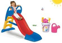 Tobogani za djecu  - Set tobogan Toboggan KS Smoby s vodom 150 cm i set s kanticom za pijesak Princeze od 24 mjeseca_10