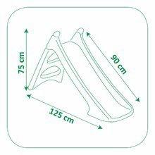 Šmykľavky pre deti  - Šmykľavka Peppa Pig Smoby Toboggan XS s vodou dĺžka 90 cm od 24 mes_1