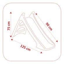 Šmykľavky sety - Set šmykľavka Autá Toboggan XS Smoby dĺžka 90 cm a odrážadlo Cars Auto 2v1_6