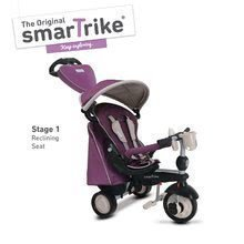 Trojkolky od 10 mesiacov - Trojkolka Recliner Infinity Purple smarTrike 5v1 TouchSteering fialovo-šedá od 10 mes_0
