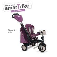 Trojkolky od 10 mesiacov - Trojkolka Recliner Infinity Purple smarTrike 5v1 TouchSteering fialovo-šedá od 10 mes_2