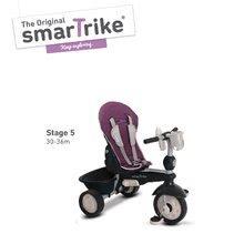 Trojkolky od 10 mesiacov - Trojkolka Recliner Infinity Purple smarTrike 5v1 TouchSteering fialovo-šedá od 10 mes_4