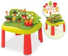 Gyerek asztal Kertész De Jardinage 2in1 Smoby kerítéssel és 15 kiegészítővel 2 éves kortól