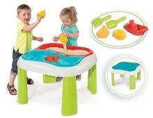 Hracie centrá - Set hracie centrum Fun Center Smoby so šmykľavkou dlhou 150 cm a stôl Voda&Piesok 2v1 s mlynom od 24 mes_5