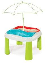 Hracie centrá - Set hracie centrum Fun Center Smoby so šmykľavkou dlhou 150 cm a stôl Voda&Piesok 2v1 s mlynom od 24 mes_7