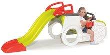 Preliezačky pre deti - Preliezačka Adventure Car Smoby s pieskoviskom a šmykľavkou dlhou 150 cm od 24 mes_4