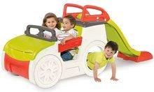 Preliezačky pre deti - Preliezačka Adventure Car Smoby s pieskoviskom a šmykľavkou dlhou 150 cm od 24 mes_2