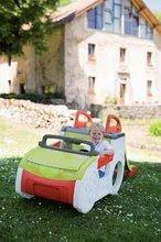 Preliezačky pre deti - Preliezačka Adventure Car Smoby s pieskoviskom a šmykľavkou dlhou 150 cm od 24 mes_1