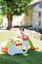 Preliezačky pre deti - Preliezačka Adventure Car Smoby s pieskoviskom a šmykľavkou dlhou 150 cm od 24 mes_0