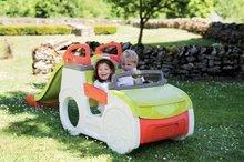 Preliezačky pre deti - Preliezačka Adventure Car Smoby s pieskoviskom a šmykľavkou dlhou 150 cm od 24 mes_6