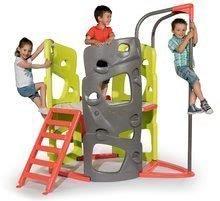 Gyerek mászóközpont Multi-Activity Tower Smoby csúszdával és mászórúddal 2 éves kortól