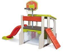 Hracie centrá - Set hracie centrum Fun Center Smoby so šmykľavkou dlhou 150 cm a domček Nature so zasúvacou okenicou od 24 mes_15