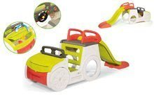 Preliezačky sety - Set preliezačka Adventure Car Smoby so šmykľavkou dlhou 150 cm a stavebnica Abrick 275 ks od 18 mes_8