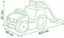 Preliezačky sety - Set preliezačka Adventure Car Smoby so šmykľavkou dlhou 150 cm a stavebnica Abrick 275 ks od 18 mes_11