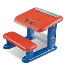 SMOBY 28835 CARS školská lavica s lavičkou a s fixkami 50*53*44 cm