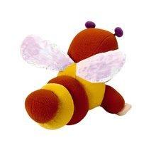 Hračky nad postieľku - Bábika Včielka Zoom Cotoons Smoby so šušťavými krídelkami pre kojencov hnedo-žltá_0