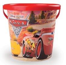 Dětský kbelík Auta 3 Smoby červený od 18 měsíců