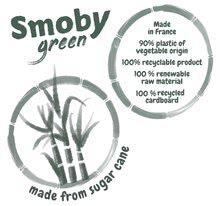 Homokozó talicskák - Húzható kiskocsi cukornádból Bio Sugar Cane Beach Cart Smoby vödörrel a Smoby Green 100% újrahasznosítható kollekcióból 18 hó-tól_11