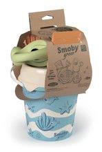 Kbelíky do písku - Kyblík set z cukrové třtiny rostliny Bio Sugar Cane Bucket Smoby 6 dílů – z kolekce Smoby Green 100% recyklovatelné od 18 měsíců_5