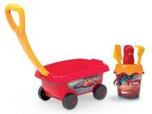 Šmykľavky sety - Set šmykľavka Autá Toboggan XS Smoby dĺžka 90 cm a vozík s vedro setom Autá_2