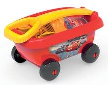 Šmykľavky sety - Set šmykľavka Autá Toboggan XS Smoby dĺžka 90 cm a vozík s vedro setom Autá_3