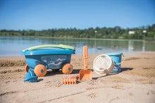 Homokozó talicskák - Húzható kiskocsi cukornádból Bio Sugar Cane Beach Cart Smoby vödörrel a Smoby Green 100% újrahasznosítható kollekcióból 18 hó-tól_3