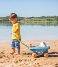 Homokozó talicskák - Húzható kiskocsi cukornádból Bio Sugar Cane Beach Cart Smoby vödörrel a Smoby Green 100% újrahasznosítható kollekcióból 18 hó-tól_2