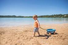 Homokozó talicskák - Húzható kiskocsi cukornádból Bio Sugar Cane Beach Cart Smoby vödörrel a Smoby Green 100% újrahasznosítható kollekcióból 18 hó-tól_7