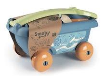 Homokozó talicskák - Húzható kiskocsi cukornádból Bio Sugar Cane Beach Cart Smoby vödörrel a Smoby Green 100% újrahasznosítható kollekcióból 18 hó-tól_8