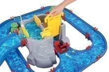Vodene staze za djecu - Vodena staza Mountain Lake AquaPlay s gorskom spiljom, toboganom i pregradom s dvjema figuricama_0
