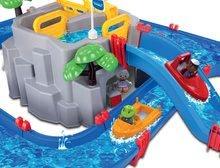 Vodene staze za djecu - Vodena staza Mountain Lake AquaPlay s gorskom spiljom, toboganom i pregradom s dvjema figuricama_2