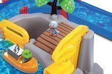 Vodene staze za djecu - Vodena staza Mountain Lake AquaPlay s gorskom spiljom, toboganom i pregradom s dvjema figuricama_4