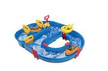 Vodní dráha AquaPlay Start Lock Set s 2 figurkami a přehradou s vodní pumpou od 3 let