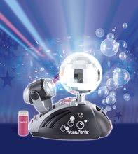 Instrumente muzicale de jucărie - Glob disco Starparty Bubble electronic Smoby cu aparat de făcut baloane_0