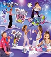 Instrumente muzicale de jucărie - Glob disco Starparty Bubble electronic Smoby cu aparat de făcut baloane_1